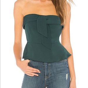 About Us Strapless Top